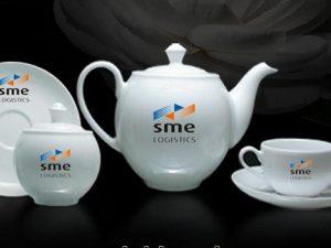 Bộ Trà Minh Long 0.8 L Camellia Giá In Logo SME