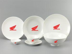 Bộ Đồ Ăn Minh Long Daisy Trắng 9 Sp Giá In Logo Honda