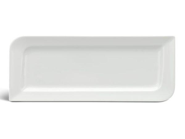 Dĩa chữ nhật dài 31 x 12 cm - Anh Vũ Ly's - Trắng Ngà