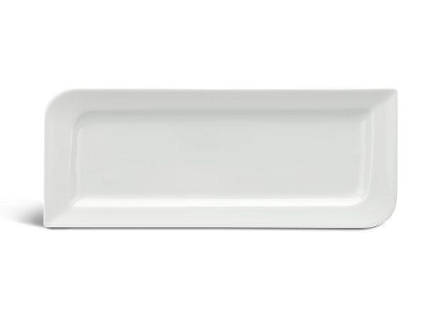 Dĩa chữ nhật dài 39 x 15 cm - Anh Vũ Ly's - Trắng Ngà