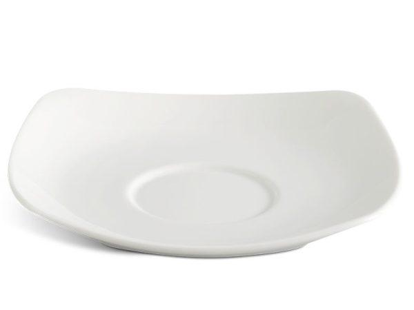 Dĩa lót chén vuông 15.5 cm - Jasmine Ly's - Trắng Ngà