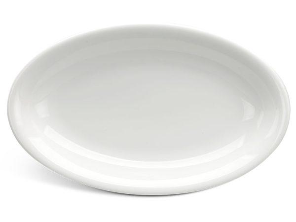 Dĩa oval ảo 21 cm - Daisy Ly's - Trắng Ngà