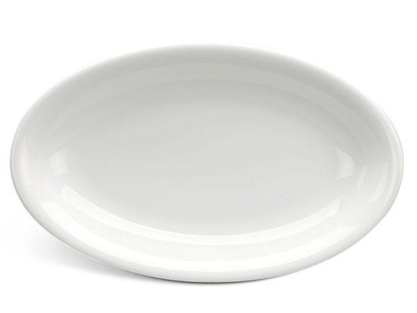 Dĩa oval ảo 37 cm - Daisy Ly's - Trắng Ngà
