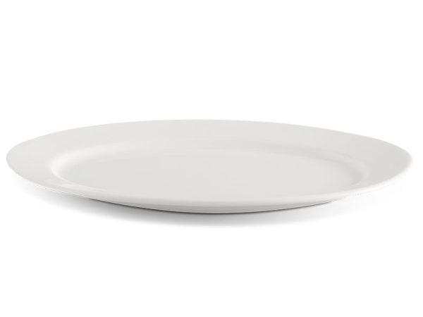 Dĩa oval 37 cm - Jasmine Ly's - Trắng Ngà