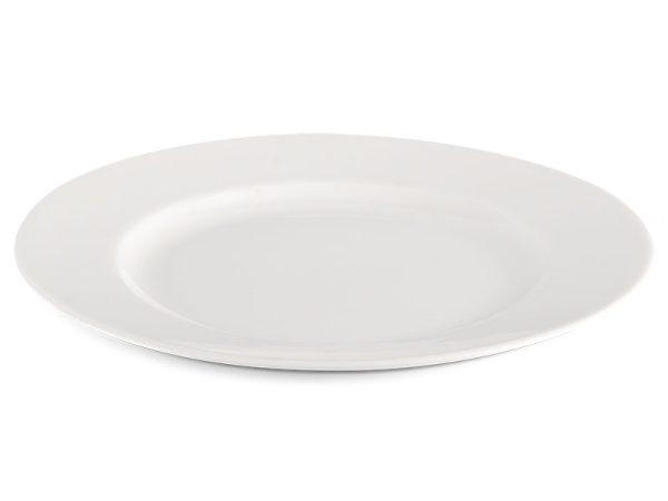 Dĩa tròn 25 cm - Jasmine Ly's - Trắng Ngà