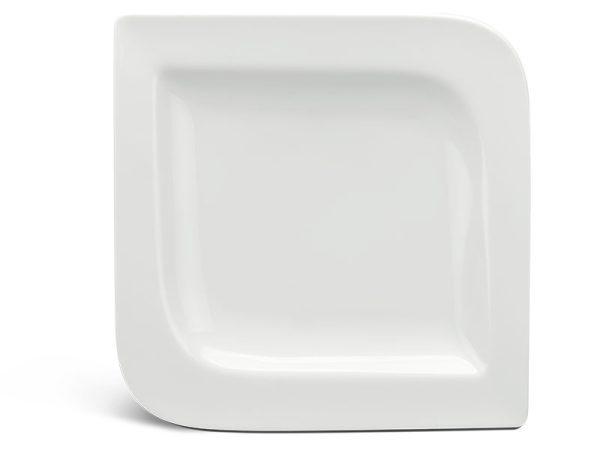 Dĩa vuông 31.5 cm - Anh Vũ Ly's - Trắng Ngà